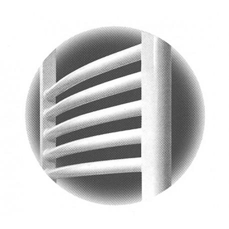 Σώμα λουτρού round ΟΒΑΛ λευκό