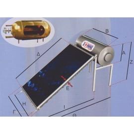 Ηλιακός Θερμοσίφωνας Sonne Aktion Χάλκινος Χαμηλού Ύψους