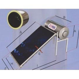 Ηλιακός Θερμοσίφωνας Sonne Aktion Glass Χαμηλού Ύψους